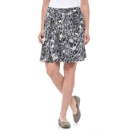Krimson Klover Palms Swing Skirt (For Women) in Black Crested Iris - Closeouts