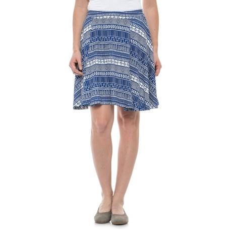 Krimson Klover Palms Swing Skirt (For Women) in Blue Handkerchief