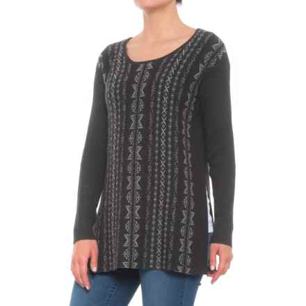 970caf9055af58 Clearance. Krimson Klover Raven Pullover Sweater - Merino Wool (For Women)  in Heather Black -