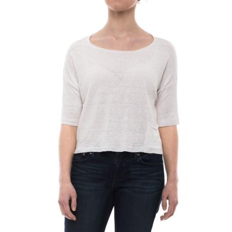 Krimson Klover Scarlett T-Shirt - Short Sleeve (For Women) in White