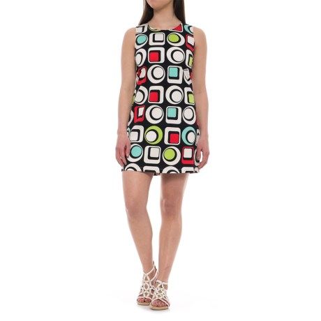 Krimson Klover Southern Belle Shift Dress - Sleeveless (For Women) in Mod