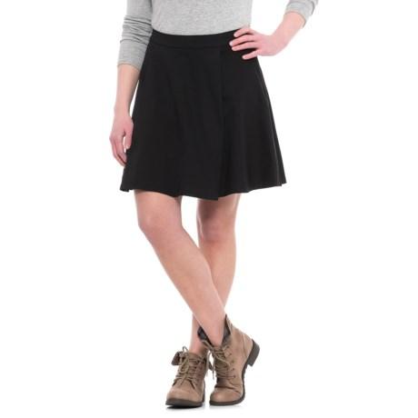 Krimson Klover Span Flare Skirt (For Women) in Black
