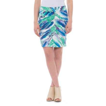 Krimson Klover Waterfall Skirt (For Women) in Blue Waterfall - Closeouts