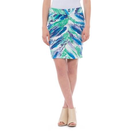 Krimson Klover Waterfall Skirt (For Women) in Blue Waterfall