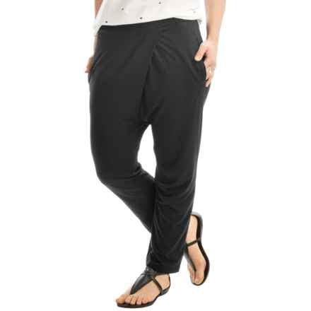 Kristy + Chloe Harem Stretch Pants (For Women) in Black - Closeouts