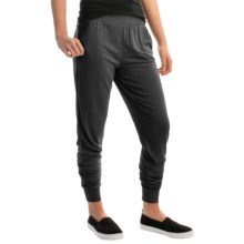 Kristy + Chloe Relaxed Joggers (For Women) in Black - Closeouts