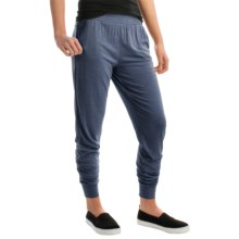 Kristy + Chloe Relaxed Joggers (For Women) in Denim - Closeouts