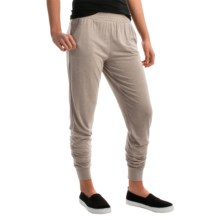 Kristy + Chloe Relaxed Joggers (For Women) in Toast - Closeouts