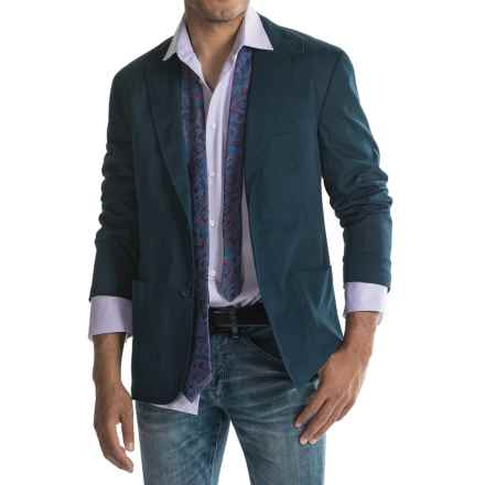 Kroon Bono 2 Double-Faced Cotton Sport Coat (For Men) in Blue - Closeouts