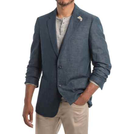 Kroon Bono 2 Sport Coat - Linen-Cotton (For Men) in Dark Blue - Closeouts