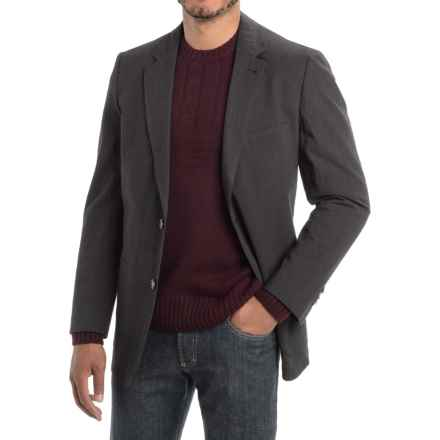 Kroon Bono 2 Textured Sport Coat (For Men) in Charcoal - Closeouts