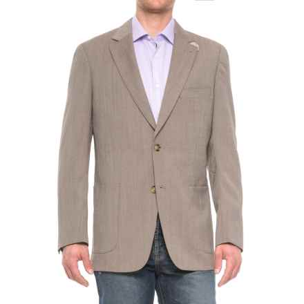 Kroon Bono 2 Wool Sport Coat (For Men) in Tan Nailhead - Closeouts