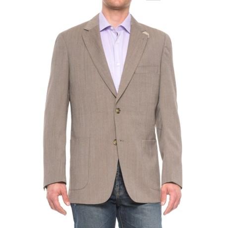 Kroon Bono 2 Wool Sport Coat (For Men) in Tan Nailhead