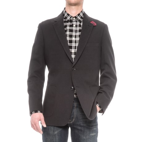 Kroon Bono Sport Coat - Double-Faced Cotton Blend (For Men) in Navy