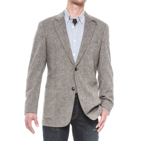 Kroon Bono Sport Coat - Midnight Donegal (For Men) in Midnight Donegal