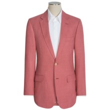 Kroon Brock Sport Coat - Silk-Wool-Linen (For Men) in Red - Closeouts