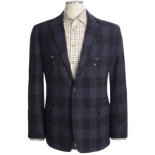 Kroon Buffalo Plaid Sport Coat - Wool Blend (For Men) in Navy - Closeouts