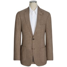 Kroon Cotton Houndstooth Sport Coat (For Men) in Brown/Tan - Closeouts