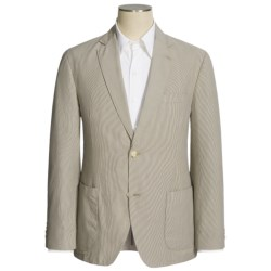 Kroon Cotton Stripe Sport Coat (For Men) in Stone