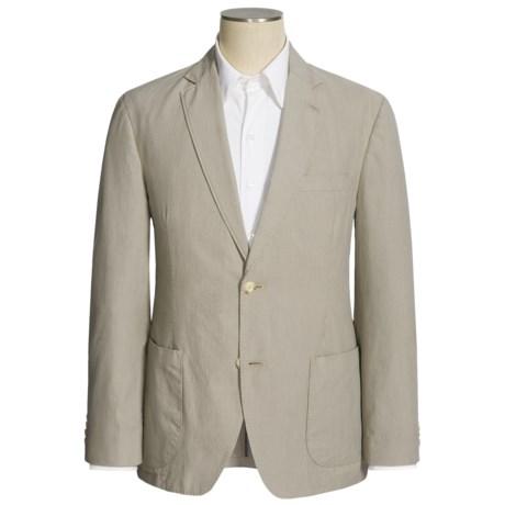 Kroon Cotton Stripe Sport Coat (For Men) in Stone