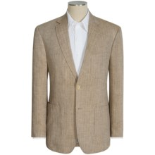 Kroon Earnest Herringbone Sport Coat - Linen (For Men) in Light Brown - Closeouts