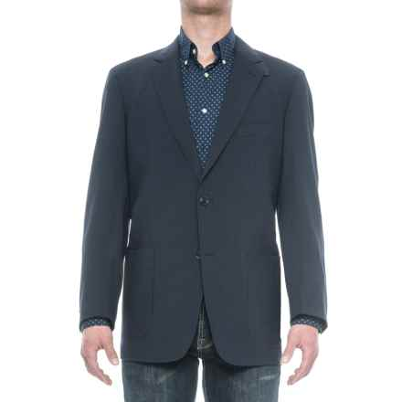 Kroon Edge 2 Sport Coat - Wool Blend, Elbow Patches (For Men) in Blue Check - Closeouts
