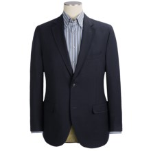 Kroon Extrafine Wool Sport Coat - Tonal Mini Check (For Men) in Navy - Closeouts