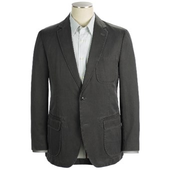 Kroon Garment-Washed Nailhead Sport Coat (For Men) in Black