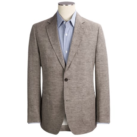 Kroon Garment-Washed Sport Coat - Cotton-Linen (For Men) in Champagne