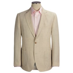 Kroon Garment-Washed Sport Coat - Cotton-Linen (For Men) in Black