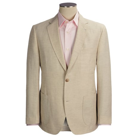 Kroon Garment-Washed Sport Coat - Cotton-Linen (For Men) in Natural