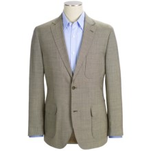 Kroon Harrison Beaded Wool Tonal Stripe Sport Coat (For Men) in Blue Mix - Closeouts