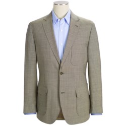 Kroon Harrison Beaded Wool Tonal Stripe Sport Coat (For Men) in Blue Mix