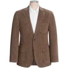 Kroon Harrison Solid Sport Coat - Stretch Cotton (For Men) in Taupe - Closeouts