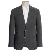 Kroon Heathered Cotton Sport Coat (For Men) in Charcoal - Closeouts