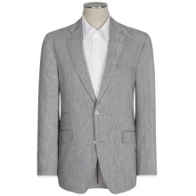 Kroon Heathered Stretch Sport Coat - Linen-Wool (For Men) in Grey - Closeouts