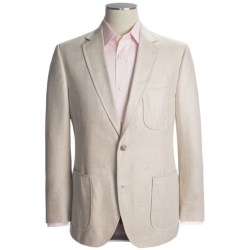 Kroon Herringbone Sport Coat - Silk (For Men) in Natural