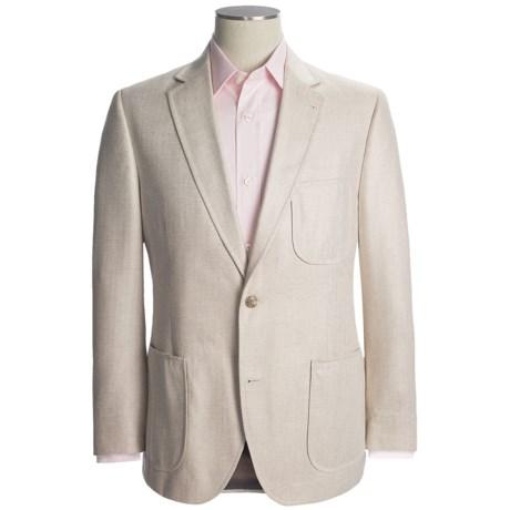 Kroon Herringbone Sport Coat - Silk (For Men) in Natural
