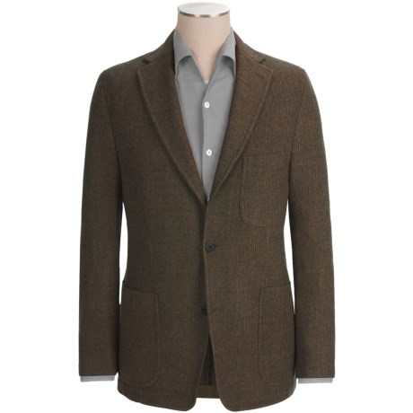 Kroon Mayer Sport Coat - Wool (For Men) in Charcoal