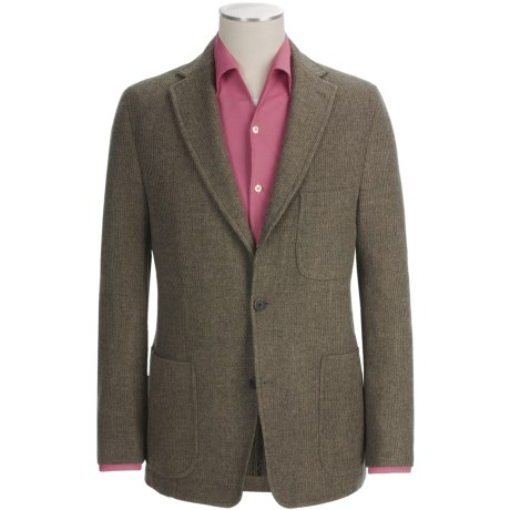 Kroon Mayer Sport Coat - Wool (For Men) in Oatmeal