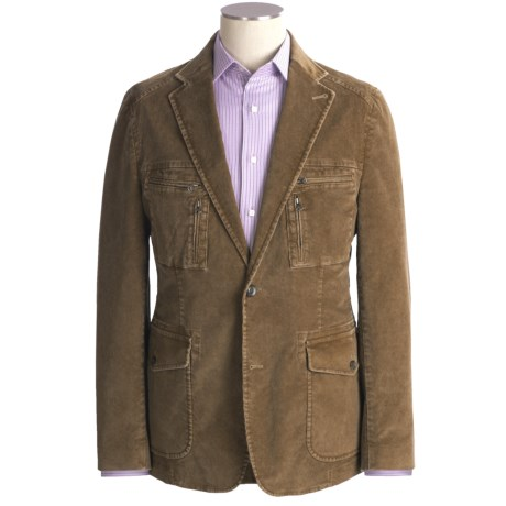 Kroon Nash Corduroy Sport Coat - Cotton (For Men) in Khaki