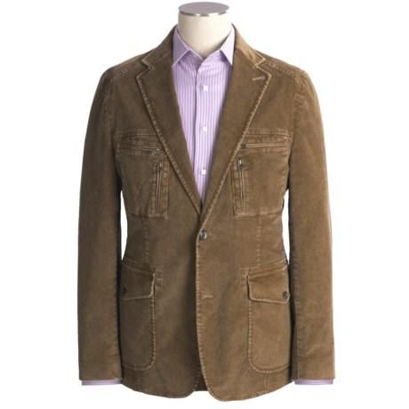 Kroon Nash Corduroy Sport Coat - Cotton (For Men) in Khaki