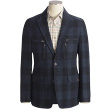 Kroon Nash Hidden Check Sport Coat (For Men) in Navy - Closeouts