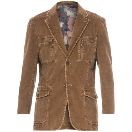 Kroon Ne-Yo Corduroy Sport Coat (For Big Boys) in Khaki