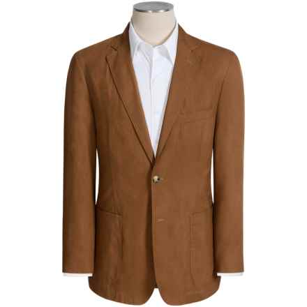 Kroon Pegasus Sport Coat - Cotton-TENCEL® (For Men) in Tan - Closeouts