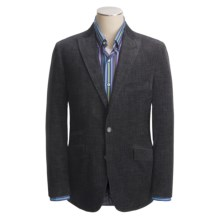 Kroon Pierce Sport Coat - Velvet (For Men) in Charcoal Blue - Closeouts