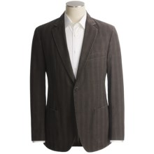 Kroon Shawn Faint Check Sport Coat (For Men) in Dark Charcoal - Closeouts