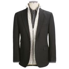 Kroon Slub Sport Coat (For Men) in Black - Closeouts