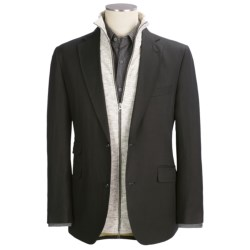 Kroon Slub Sport Coat (For Men) in Black