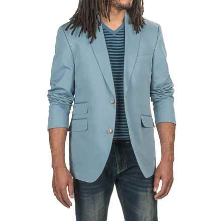 Kroon Sting Sport Coat - Cotton-Linen (For Men) in Blue - Closeouts